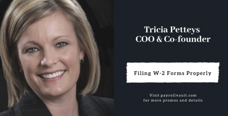 Take the time to guarantee timely and accurate W-2 filing...